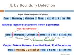 ie by boundary detection6
