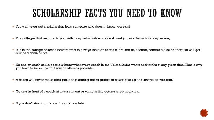 Scholarship facts you need to know