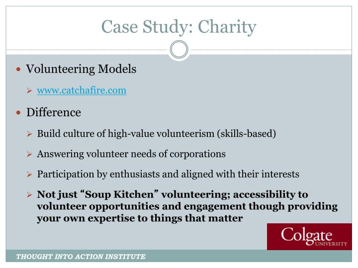Case Study: Charity
