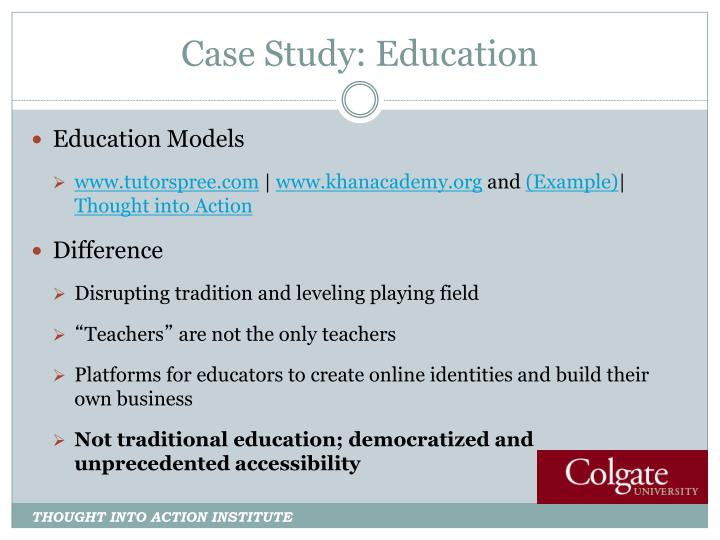 Case Study: Education