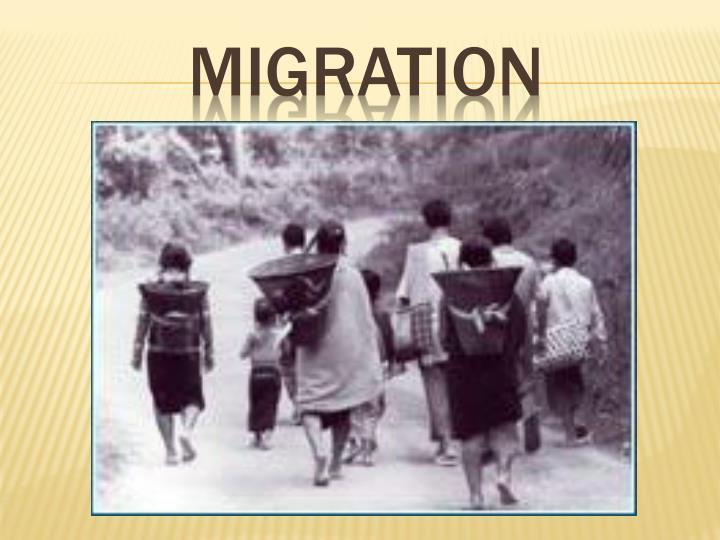migration