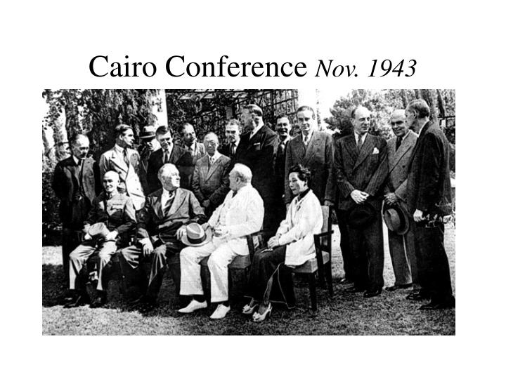 Cairo Conference