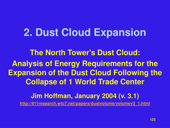 2. Dust Cloud Expansion