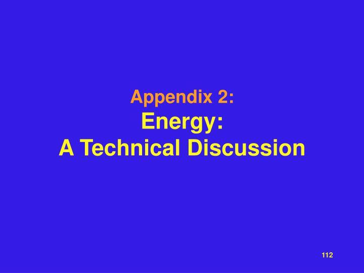 Appendix 2:
