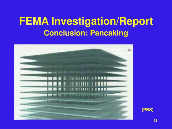 FEMA Investigation/Report