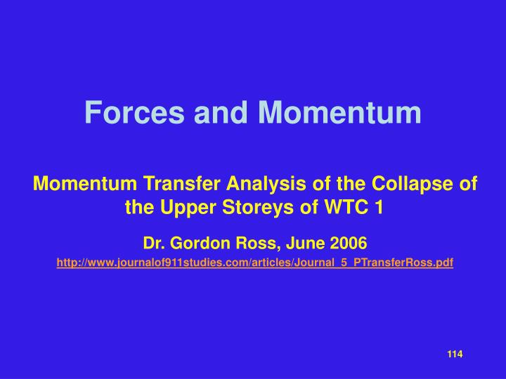 Forces and Momentum
