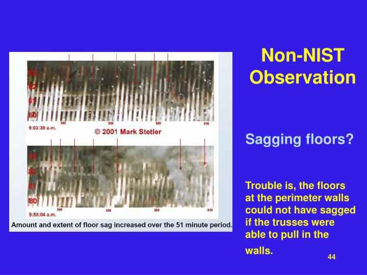 Non-NIST Observation