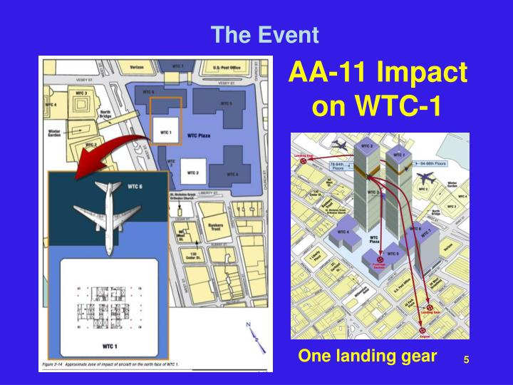 AA-11 Impact on WTC-1