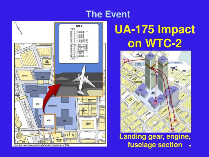 UA-175 Impact on WTC-2