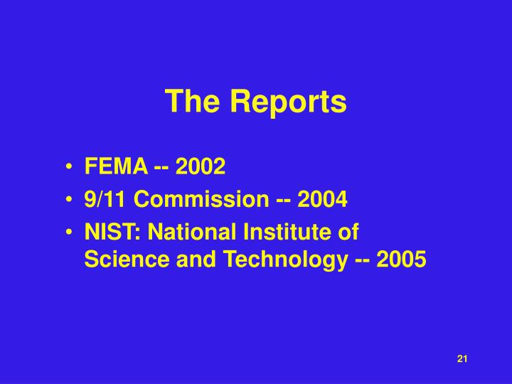 The Reports