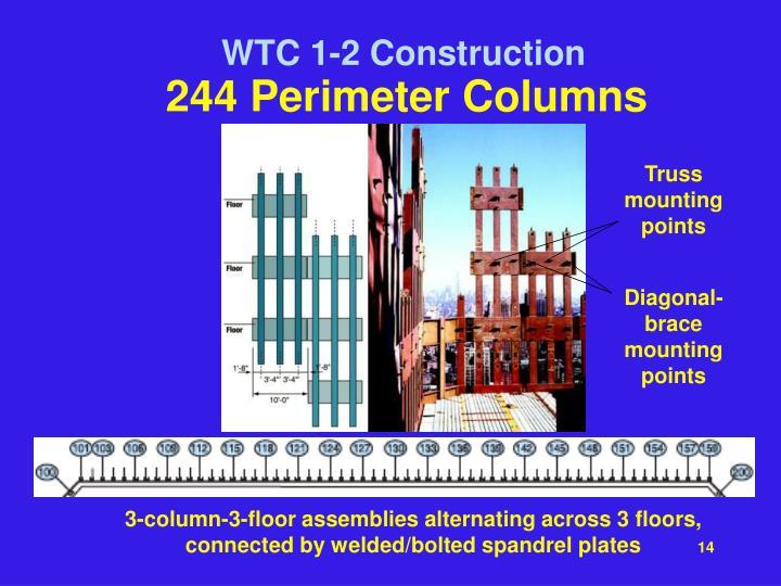244 Perimeter Columns