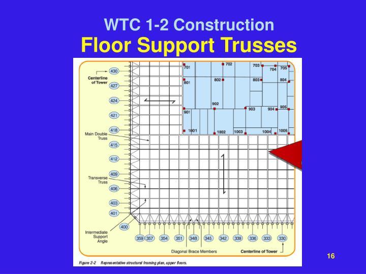Floor Support Trusses