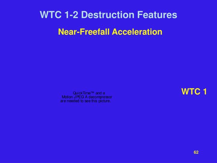 Near-Freefall Acceleration