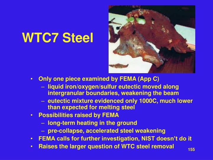 WTC7 Steel