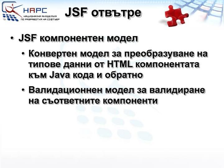 JSF отвътре
