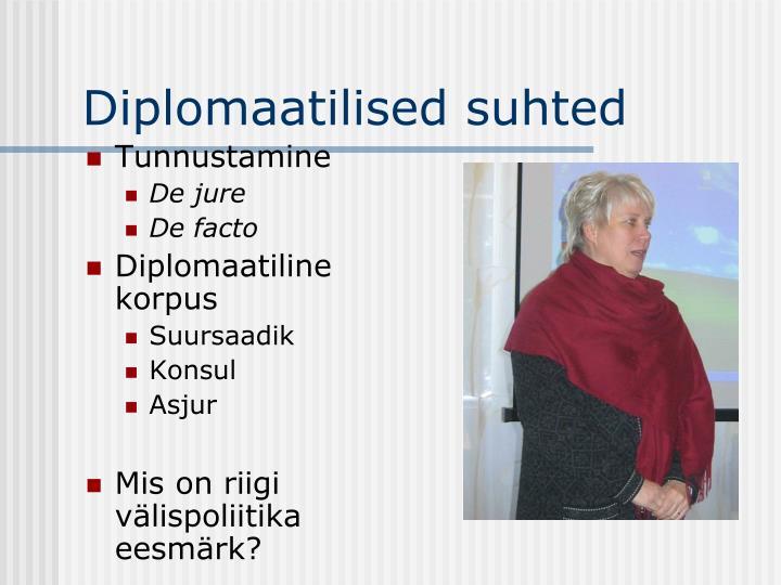 Diplomaatilised suhted