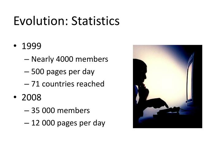 Evolution: Statistics