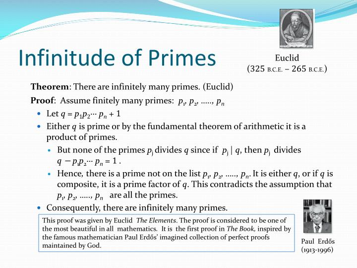 theorems related to mersenne primes mathematics essay What is more important in mathematics, theorems or and highly readable essay on proof and progress in mathematics  the first 10,000 primes.
