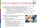 positive impact of technology1