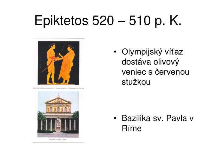 Epiktetos 520 – 510 p. K.