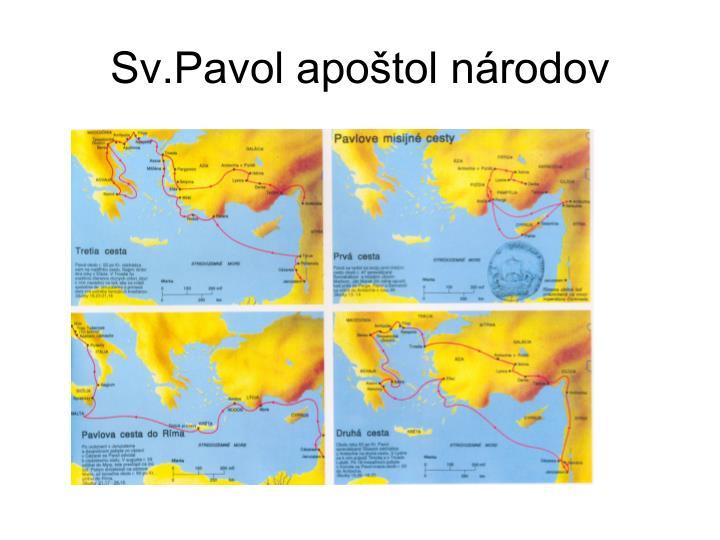 Sv.Pavol apoštol národov