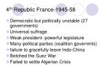 4 th republic france 1945 58