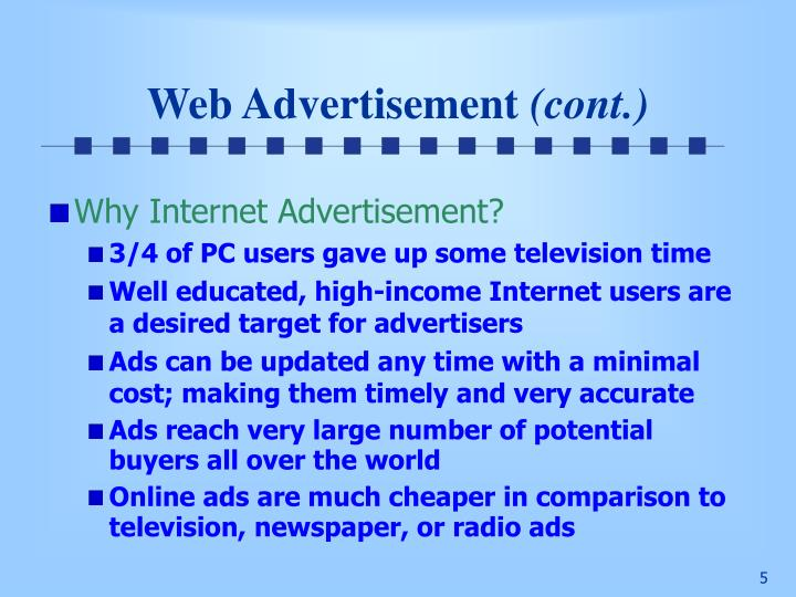 Web Advertisement