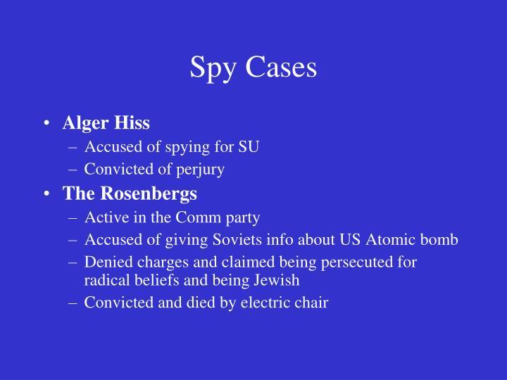 Spy Cases