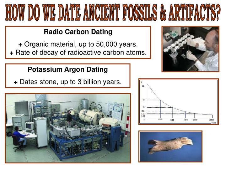 Radiocarbon dating vs potassium argon dating