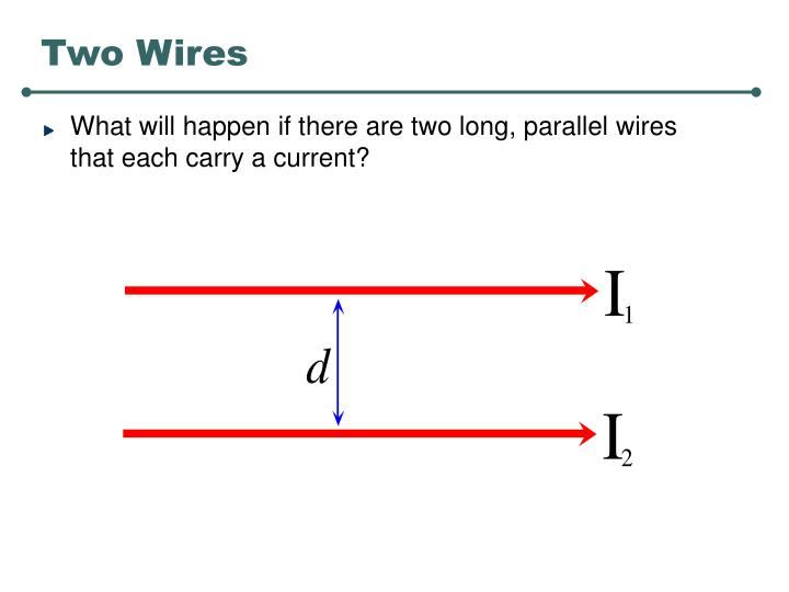 Two Wires