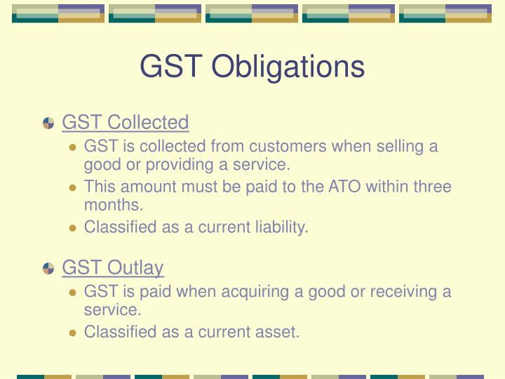 GST Obligations