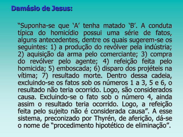Damásio de Jesus: