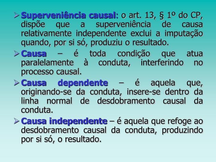 Superveniência causal