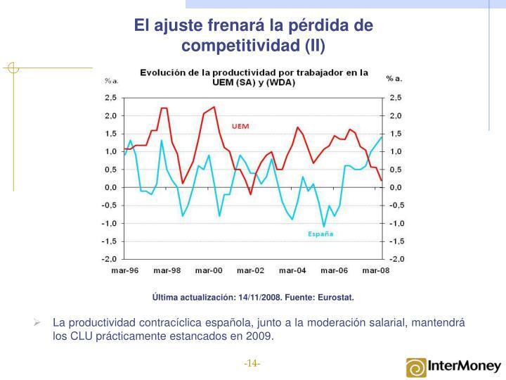 El ajuste frenará la pérdida de competitividad (II)