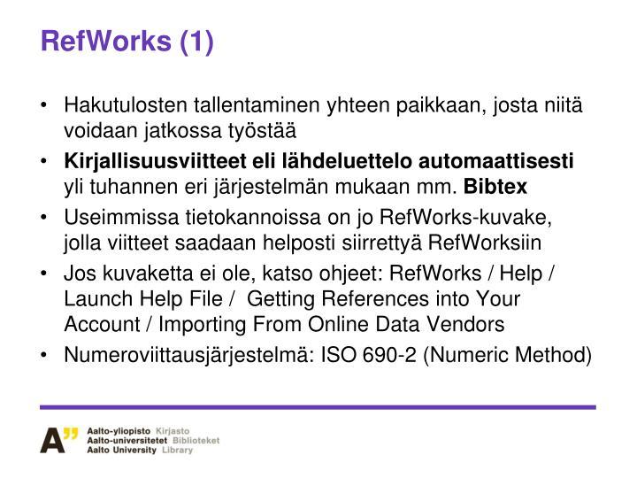 RefWorks (1)