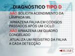 diagn stico tipo d