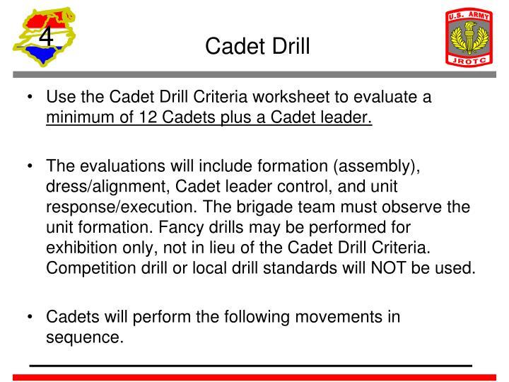 Cadet Drill