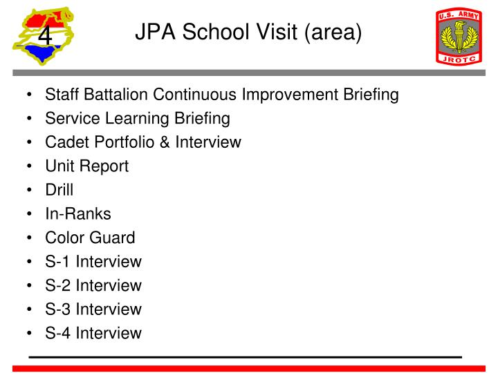 JPA School Visit (area)