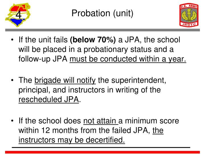 Probation (unit)