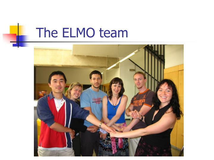 The ELMO team