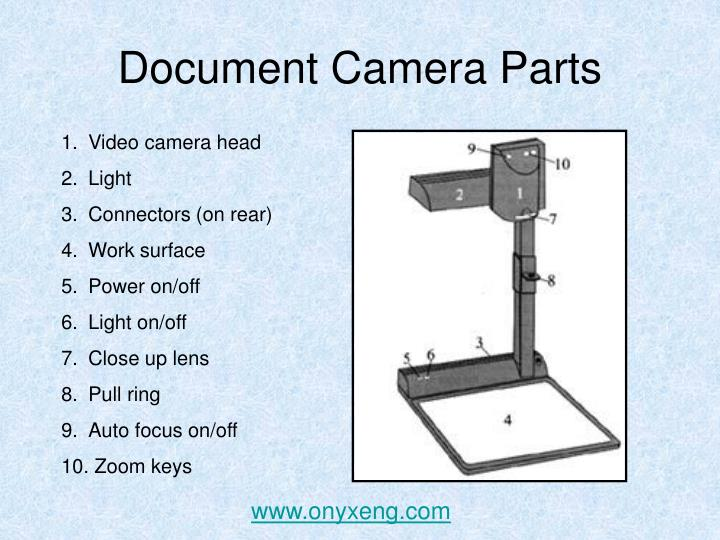 Document Camera Parts