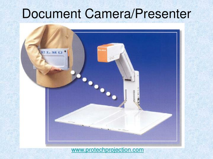 Document camera presenter