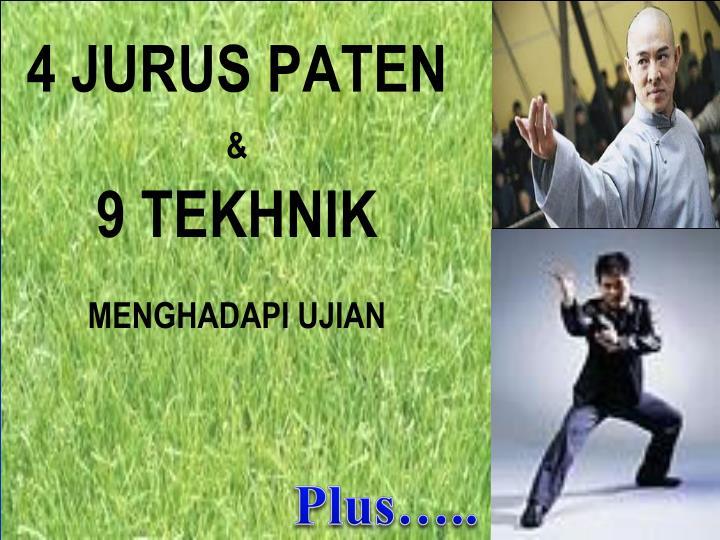 4 JURUS PATEN