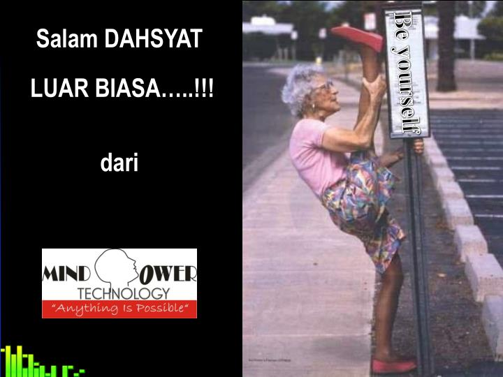 Salam DAHSYAT