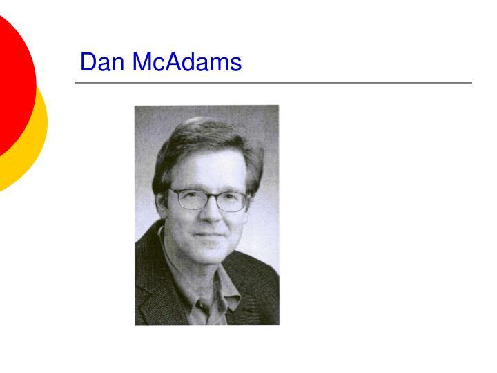 Dan McAdams