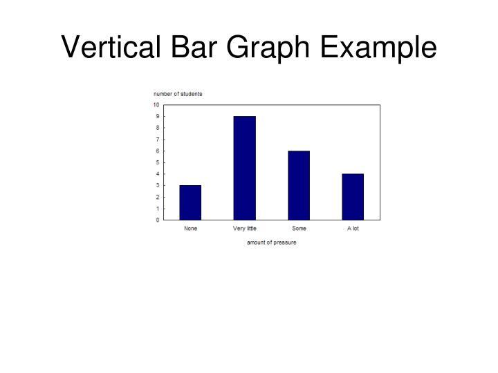 Vertical Bar Graph Example
