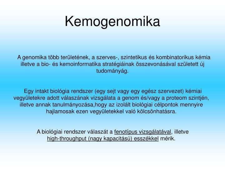 Kemogenomika