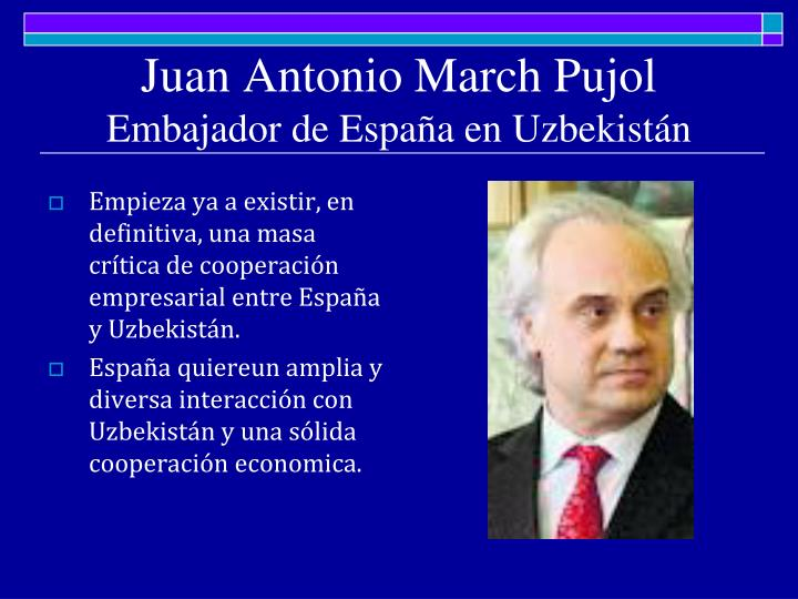 Juan Antonio March Pujol
