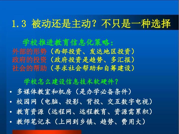 学校推进教育信息化策略: