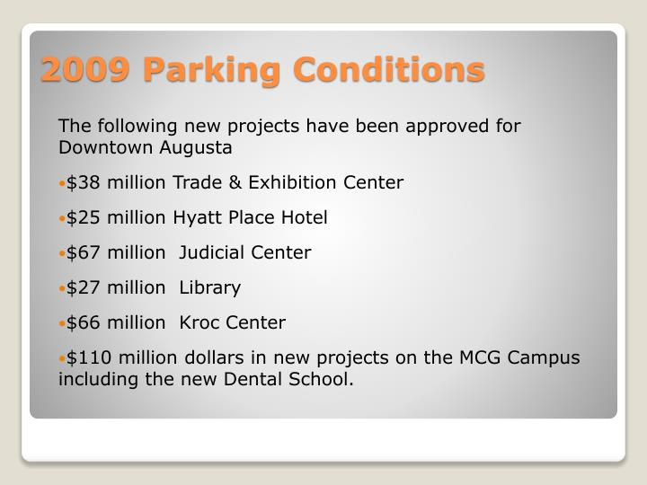 The following new projects have been approved for Downtown Augusta